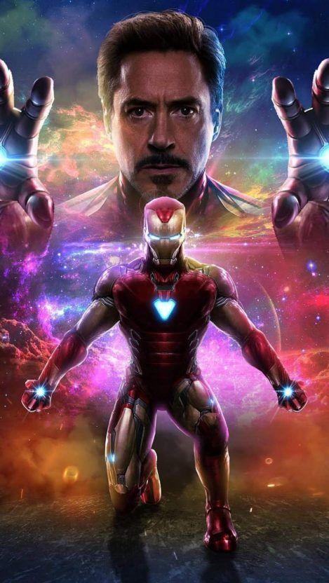 Iron Man Art iPhone Wallpaper