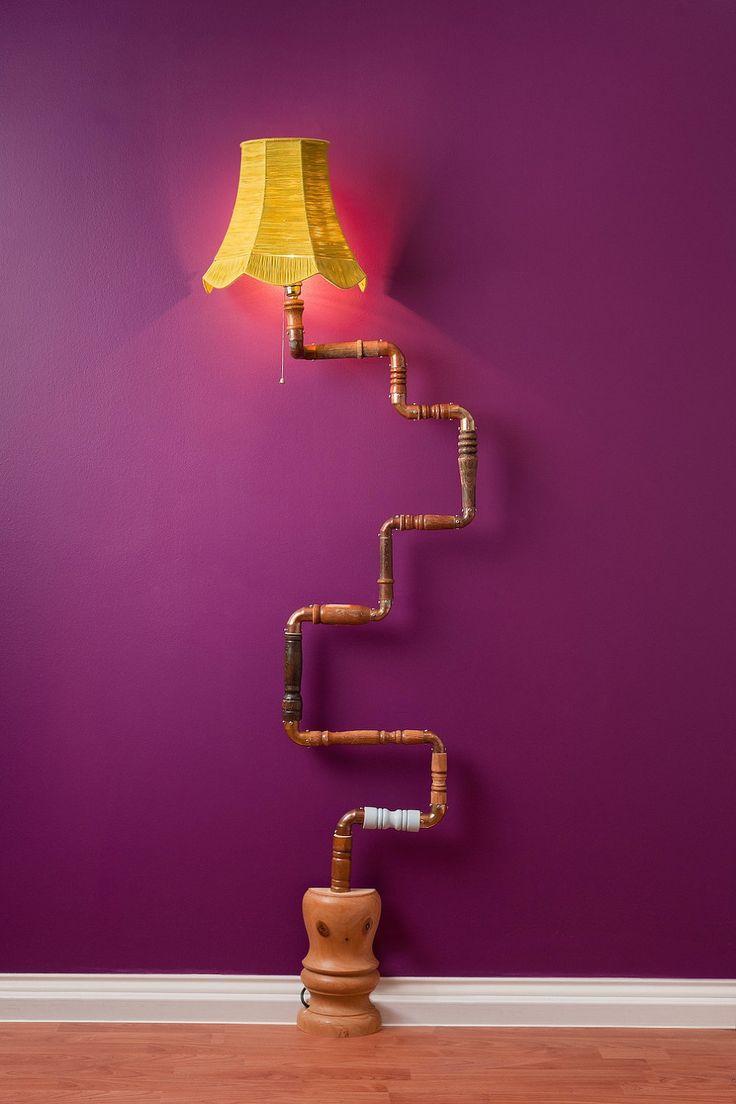 DIY lamp idea for the Dr. Seuss room of my dreams.