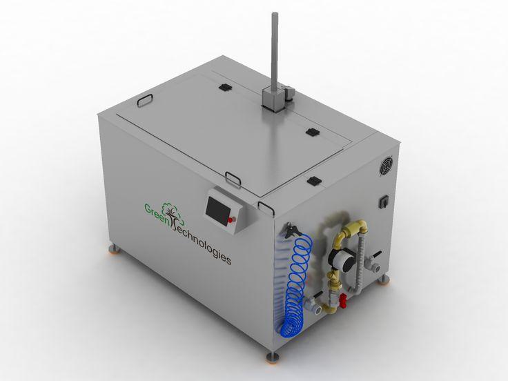 GTS-16 160 Litros 1500 Vatios de Ultrasonidos 4500 Vatios de Calentamiento Medidas Internas: 700 x 550 x500 Medidas Útiles: 680 x 440 x 350 Capacidad de carga: 100 Kilos