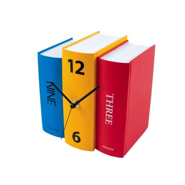 Zegar stojący Karlsson Book Paper KA4284, kolorowy ◾ ◾ PrezentBox