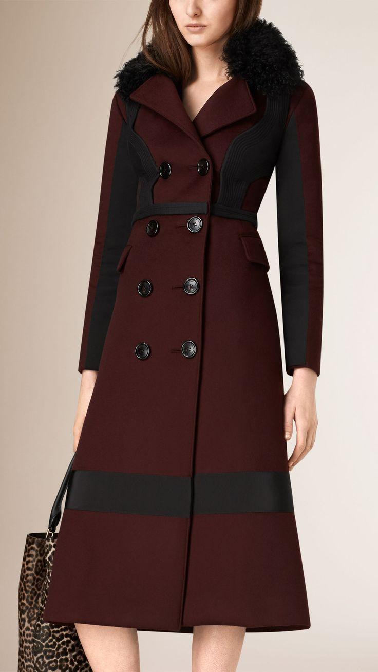 Кашемировое пальто в стиле «милитари» | Burberry