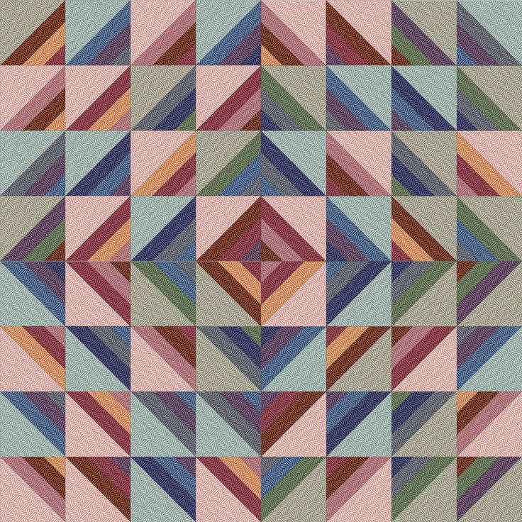 Hadleigh Roman Stripe Quilt idea 2
