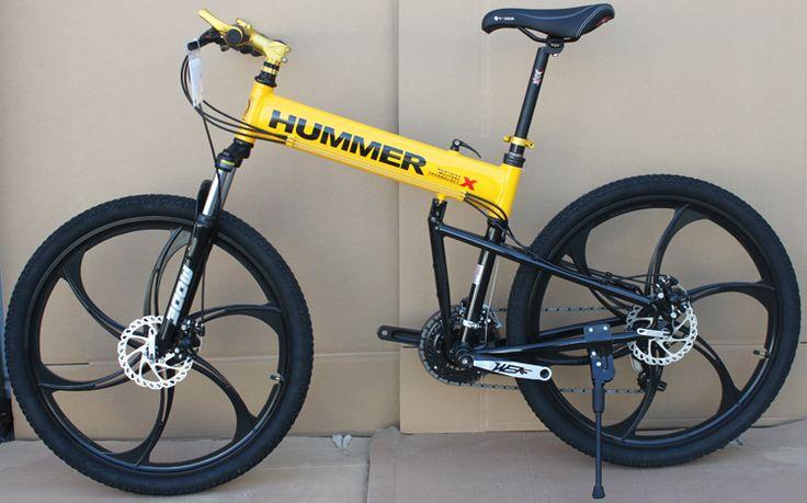 26 дюймовый горный алюминиевый складной велосипед рама велосипеда 21 скорость дисковые тормоза высокий человек MTB велосипед 4 цвет выбирает свободную перевозку груза