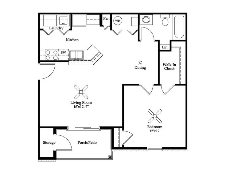 Open Floor Plan Apartment 18 best floor plans images on pinterest | small apartments