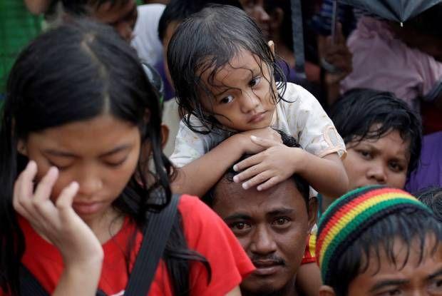 Duka Anak-anak Korban Topan Haiyan