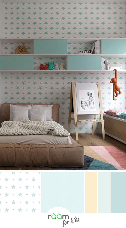Ein Jugendzimmer Fur Madchen In Frischen Farben Gestaltet In 2020