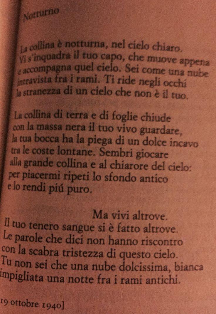 Notturno. Cesare Pavese