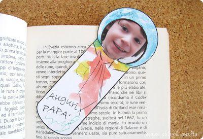 mami chips & crafts: Festa del papà: un segnalibro speciale