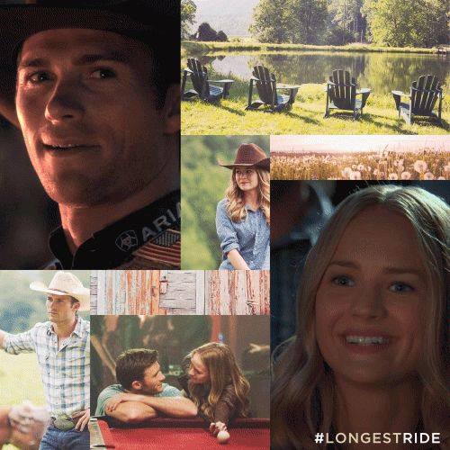 Love caught them by surprise. Luke and Sophia's worlds collide in The Longest Ride, now playing in theaters!