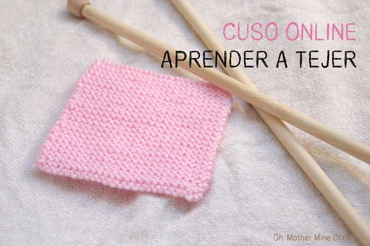 Curso online gratis Aprender a tejer 5: Como hacer punto bobo o punto mu...