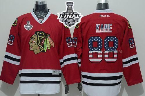 http://www.xjersey.com/blackhawks-88-patrick-kane-red-usa-flag-2015-stanley-cup-jersey.html BLACKHAWKS 88 PATRICK KANE RED USA FLAG 2015 STANLEY CUP JERSEY Only $50.00 , Free Shipping!