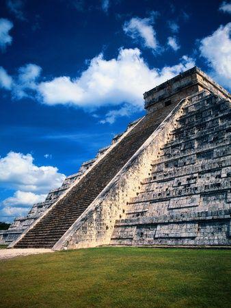 Kukulcan, Chichen Itza, Mayan Riviera, Mexico