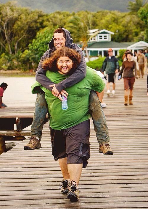 Jorge Garcia and Matthew Fox
