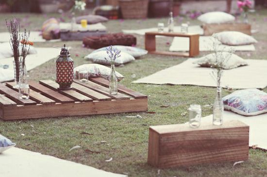 oh!myWedding: Decorar de una manera original con palets de madera