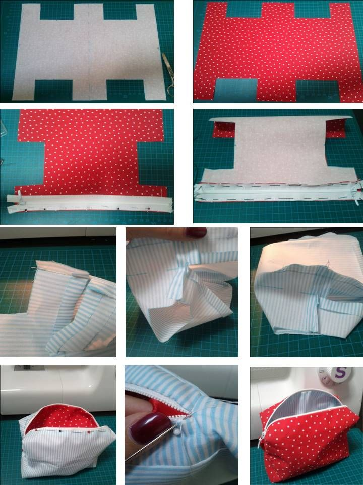 Beautycase I have sewed for my little sister (free pattern by LizOrLizzy http://youandiheartdiy.blogspot.de)