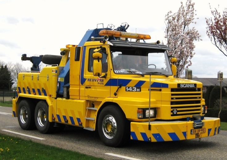 Scania T143h Th6x2z Tow Truck №1 2 Scania Tow Truck