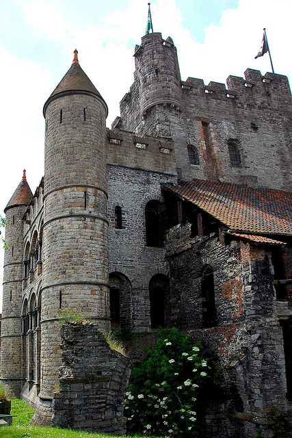 Castillo de Gravensteen, Gante, Bélgica
