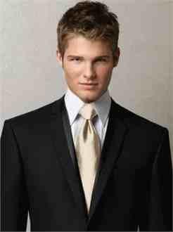Groomsmen wearing palomino ties