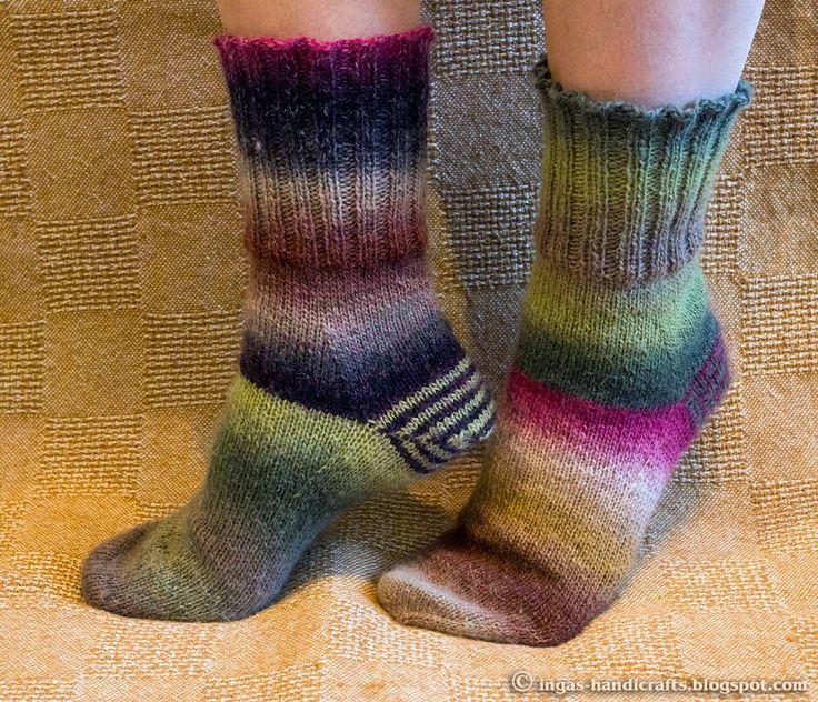 Inga´s Handicrafts: Sokid / Socks