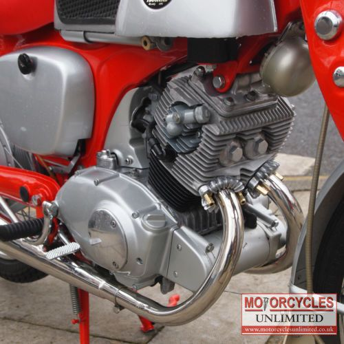 1961 Honda CB92 Benly Classic Bike for Sale   Motorcycles Unlimited