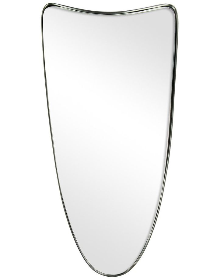 Fellie - Shield Shaped Metal Framed Wall Mirror H:60cm | MirrorDeco