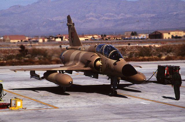 Dassault Mirage 2000 NK 335 4-BJ EC 2-4 'La Fayette' Nellis AFB 17Feb93