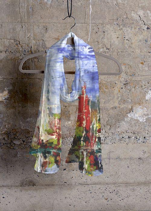 Mens Silk Pocket Square - DAY BEAUTIFUL by Sonny Chalermchatra Sonny Chalermchatra 84F41