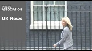 Esther Mc Vee arrives At No 10 - YouTube