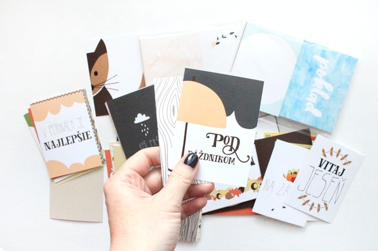 project life cards design // AUTUMN KIT // Pinned from luciabarabas.com by Lucia Barabas