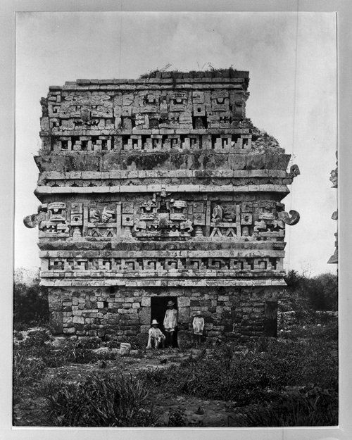 Chichen Itza, 1883, by Alfred Maudslay