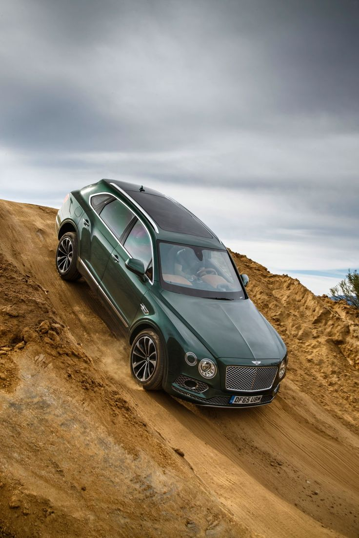 Car Porn: Off-Roading With A Bentely Bentayga