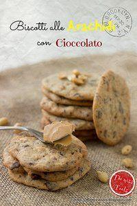 Biscotti alle arachidi con cioccolato - Peanuts Chocolate Cookies