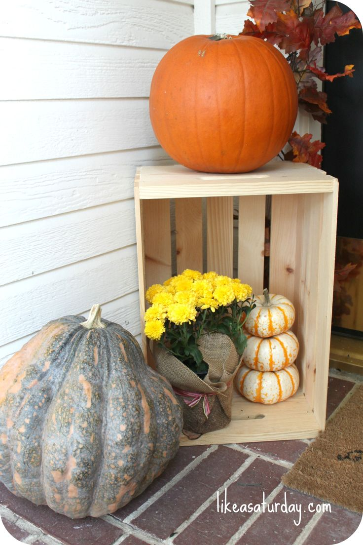 376 best mums pumpkins mumkins images on pinterest Fall outdoor decorating with pumpkins