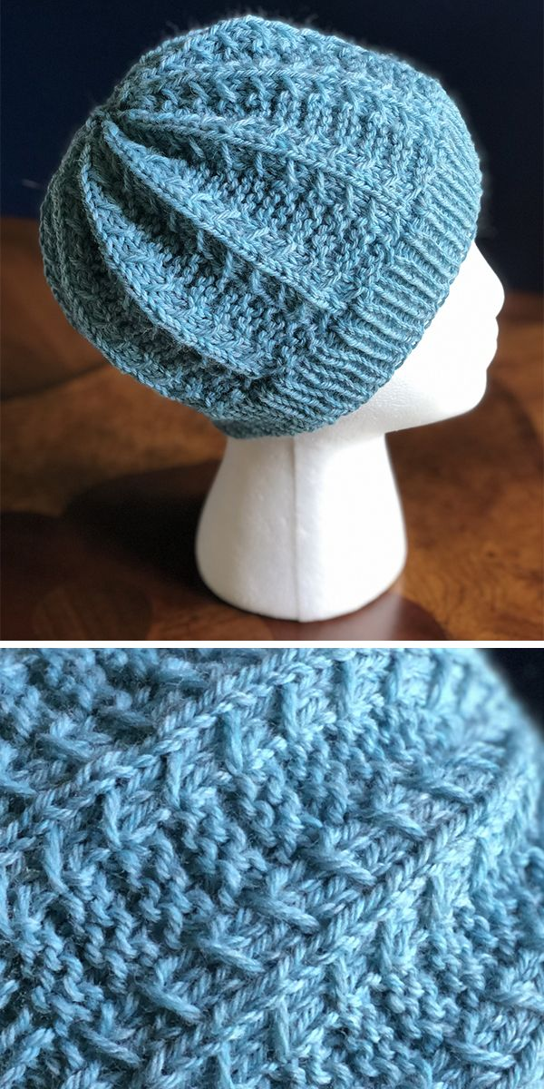 Free until June 29, 2019 Knitting Pattern for Mountain Hiker Hat