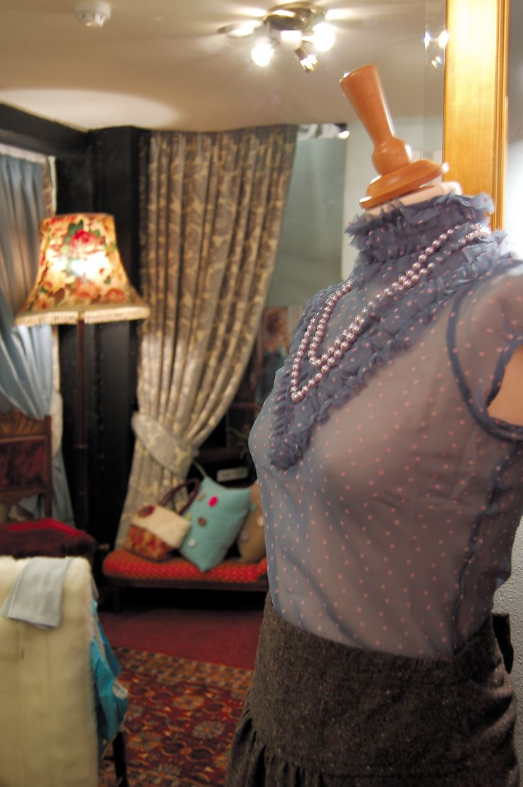 The shop had a drawing room feel to the back, and many ladies were quite at home.