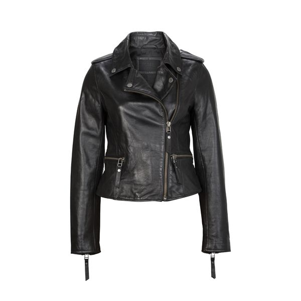 Leather jacket from #KarlLagerfeld I available at #DesignerOutletParndorf