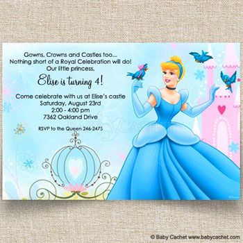 princess birthday mermaid baby showers cinderella carriage girl shower