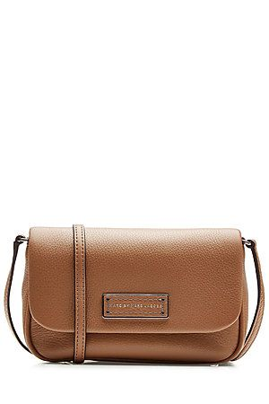 A nut brown hue lends a classic look to this perfectly petite shoulder bag from Marc by Marc Jacobs #Stylebop