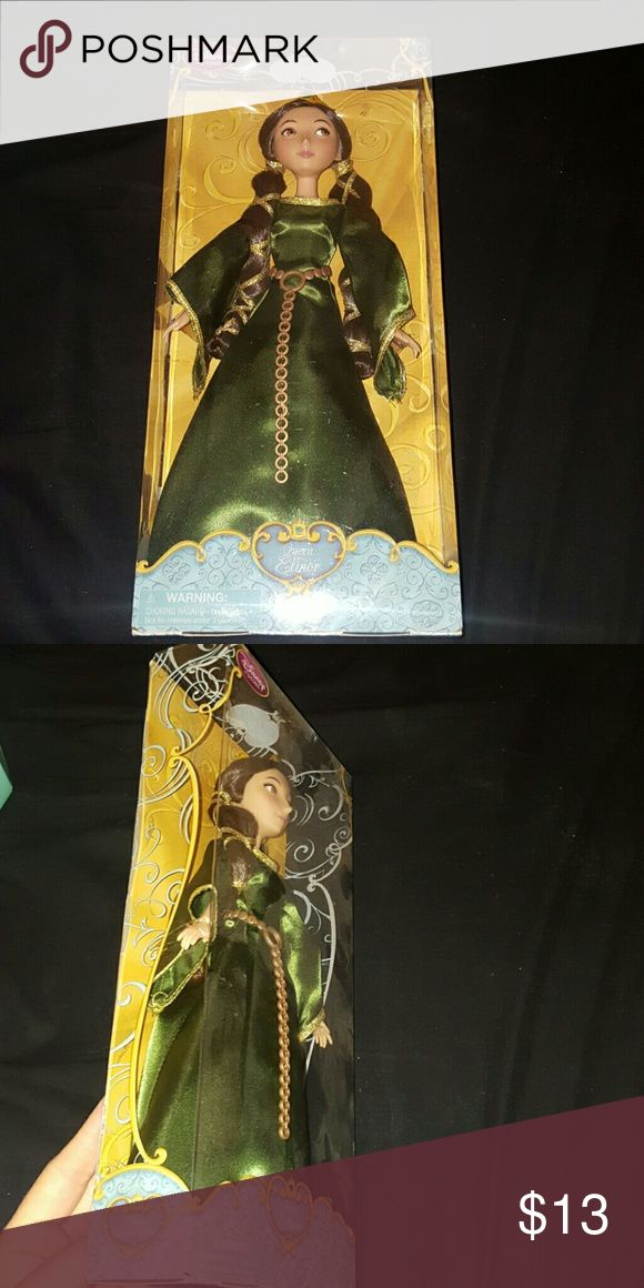 Queen Elinor Disney Barbie Doll Queen Elinor Disney Barbie. Never opened. Still sealed. Perfect present! Disney Other