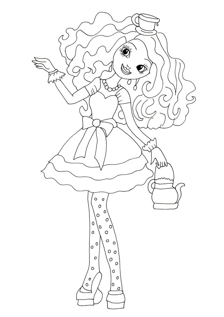 coloring pages to print madeline - photo#21