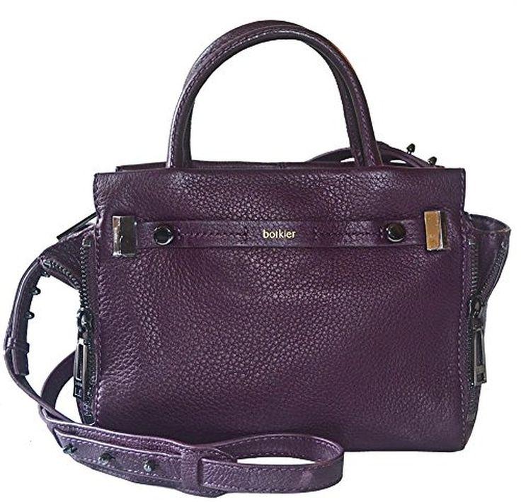 Botkier Leather Leroy Satchel Xbody Crossbody Messenger Bag Purse
