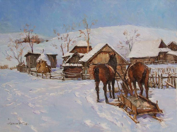 Современная живопись: Эшалиев Эльдар Зулунбекович (55 работ)