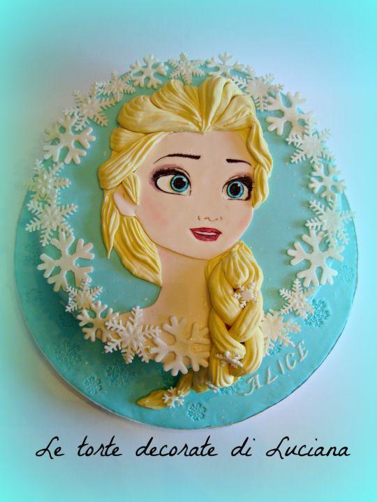 my Elsa cake - Cake by luciana - CakesDecor