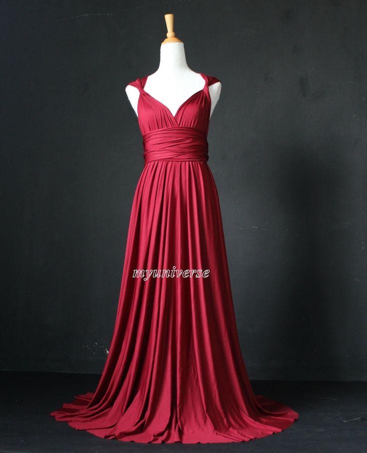 Vestido de Dama de honor Marrón ciruela infinito por myuniverse