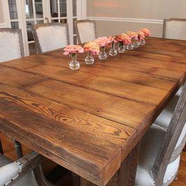 106 best Farmhouse Table images on Pinterest | Farm tables ...