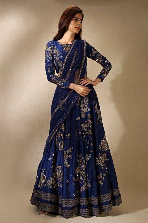 Meer Dan 1000 Idee N Over Lehenga Saree Op Pinterest Halve Sari Sari En Saree Bloes