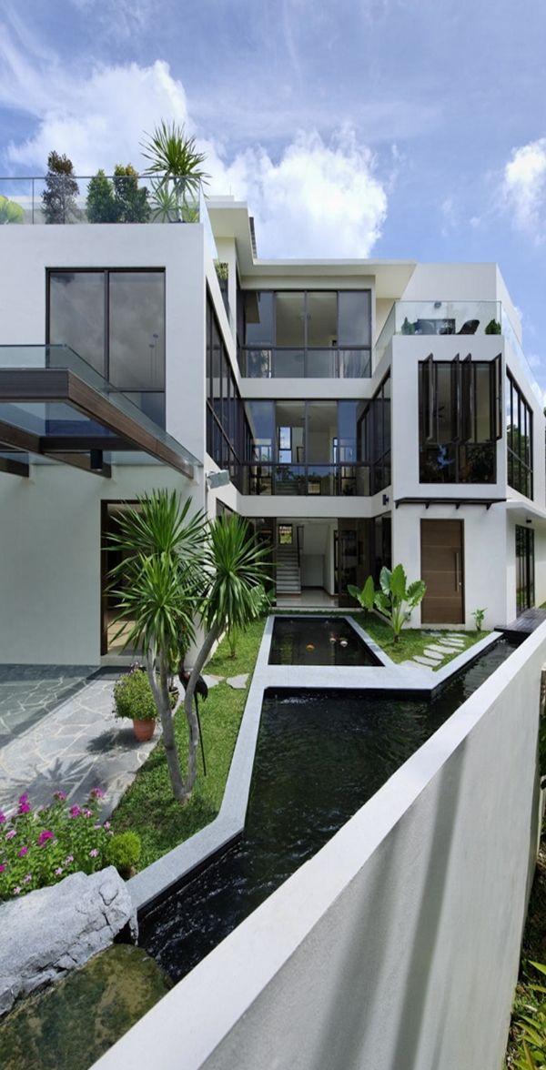 Modern Mansion Exterior best 25+ modern entrance ideas on pinterest | modern entry, modern