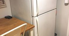 """""""I wish I'd seen this before replacing my fridge!"""" said a reader when she saw this amazing transformation:"""