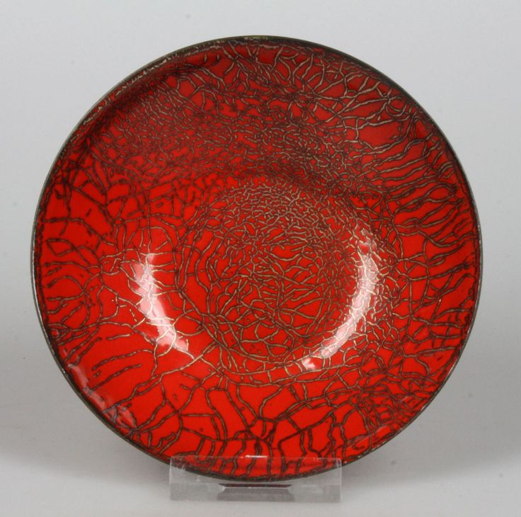 Franco Bastianelli Laurana, copper enamel bowl | artentique • nl - shop