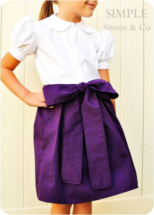 Simple Simon & Company: The Starboard Skirt: A Fall Edition